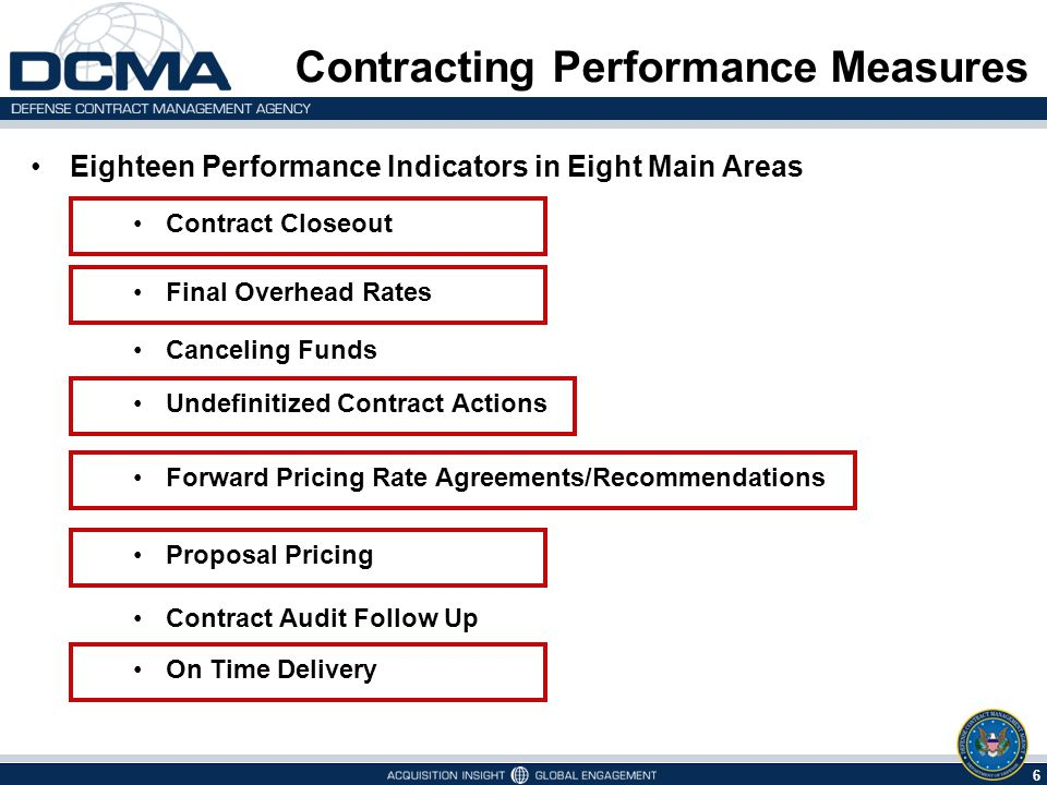 Dcmas Strategic Plan Achieving Contracting Performance