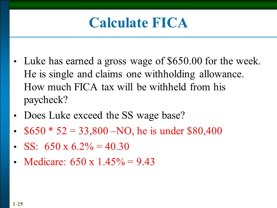 calculate fica