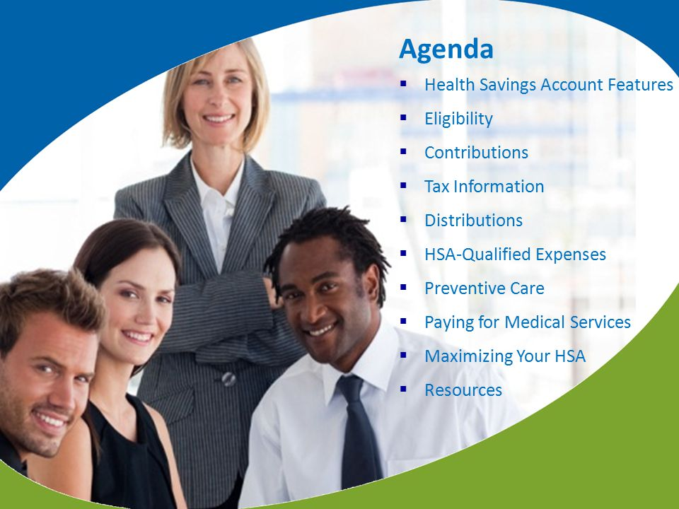 Agenda Health Savings Account Features Eligibility Contributions
