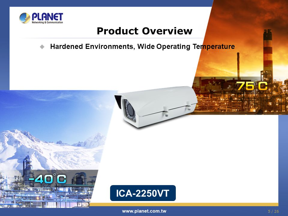 Planet ICA-2250VT IP Camera Drivers Update