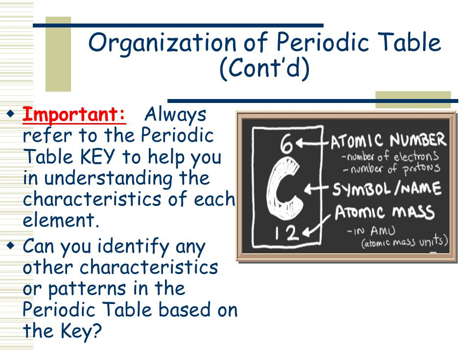 Classification of elements the periodic table ppt video online organization of periodic table contd urtaz Gallery