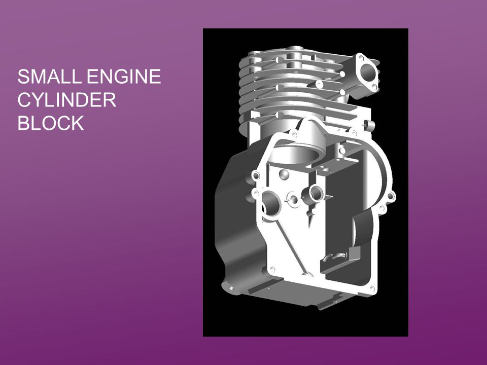 Small Engine Cylinder Block