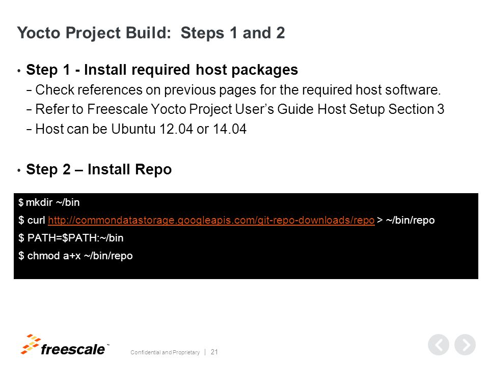 Agenda Introduction Freescale i MX Releases Get Started
