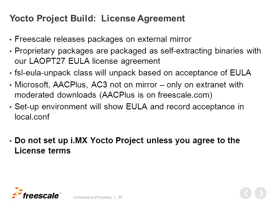 Agenda Introduction Freescale i MX Releases Get Started Debugging