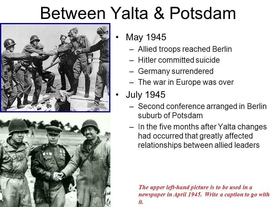 The Potsdam Conference July August Ppt Download