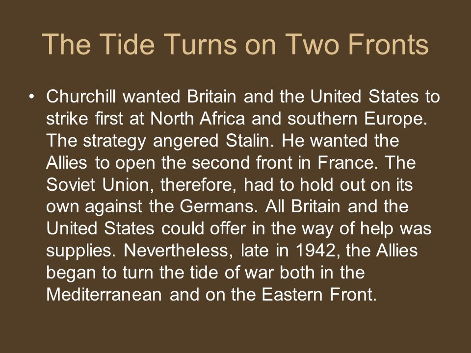 the allied victory chapter 32 section ppt video online download rh slideplayer com 1943 Allied Invasion of Italy Victory in Europe Timeline