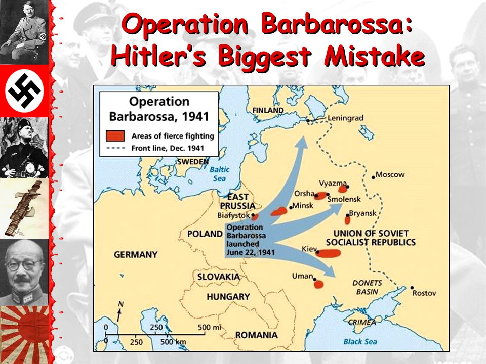 Operation Barbarossa: Hitler's Biggest Mistake