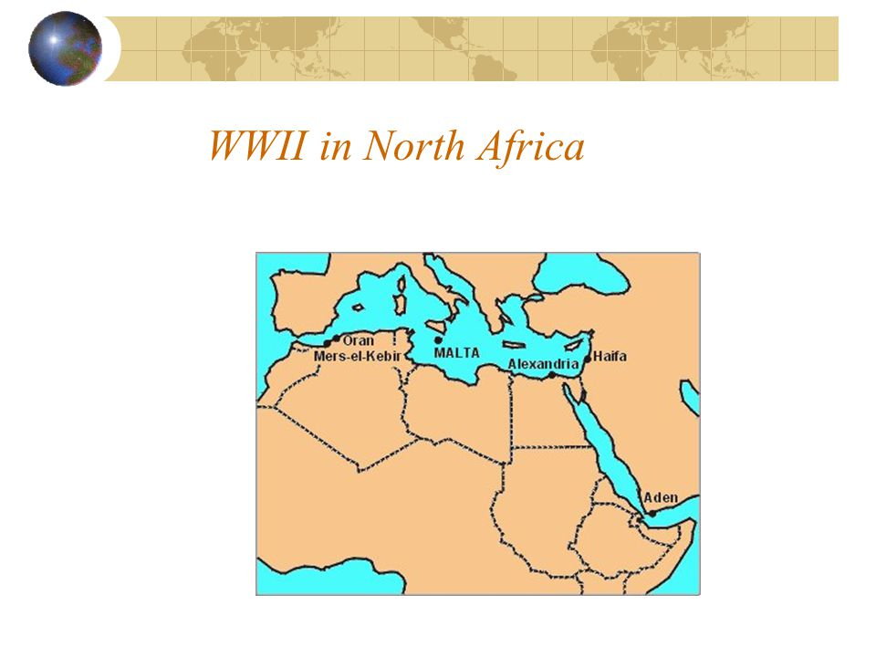 WWII in North Africa