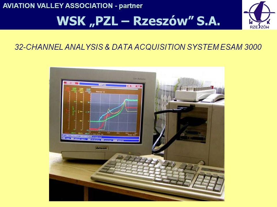 32-CHANNEL ANALYSIS & DATA ACQUISITION SYSTEM ESAM 3000