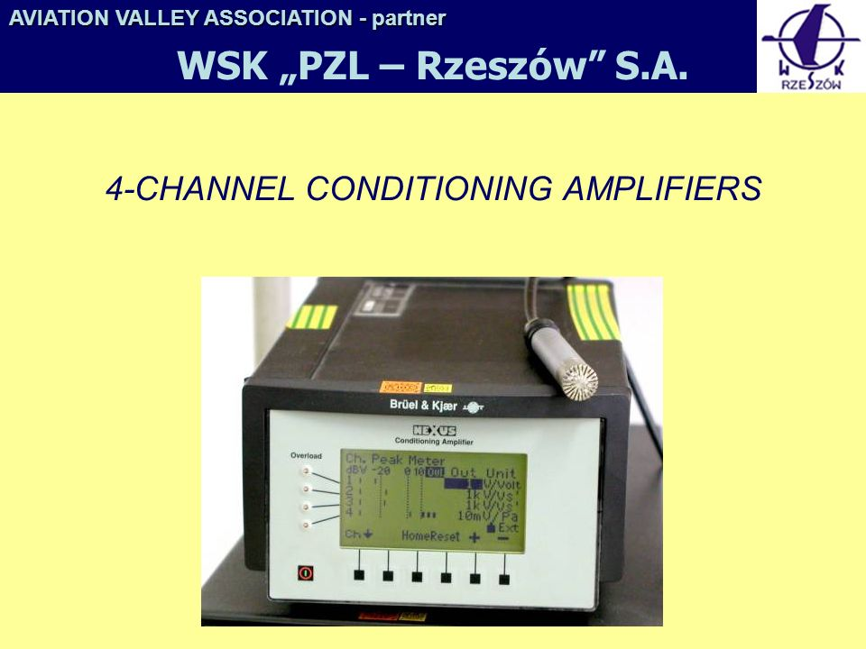 4-CHANNEL CONDITIONING AMPLIFIERS