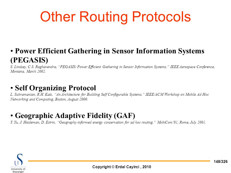Other Routing Protocols