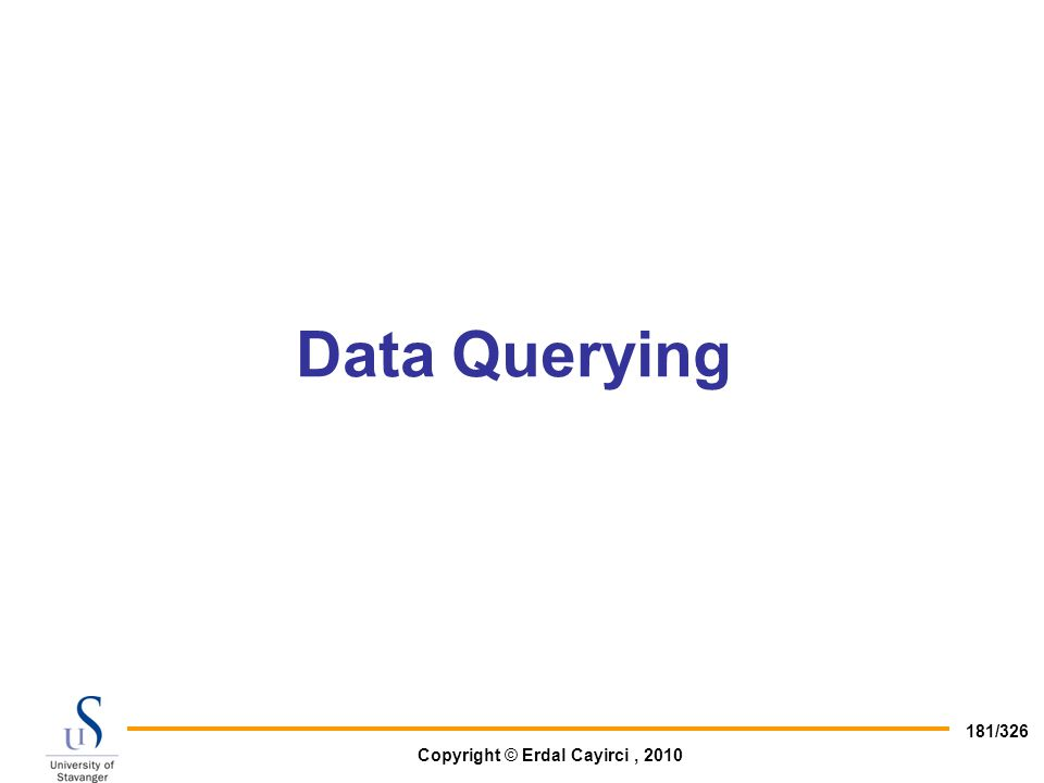 Data Querying