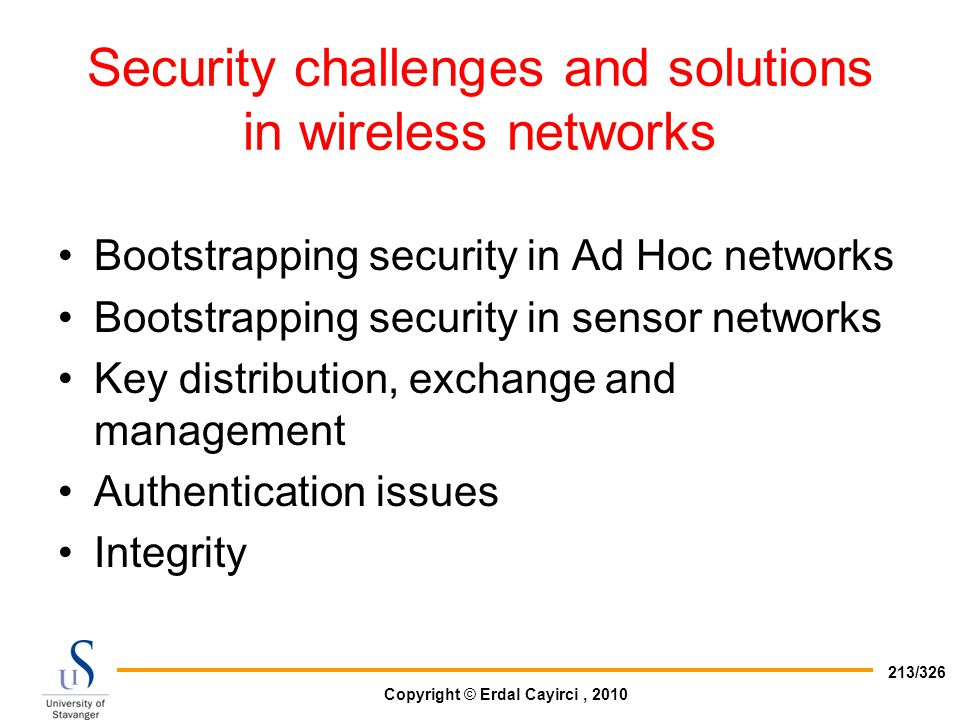 Security challenges and solutions in wireless networks