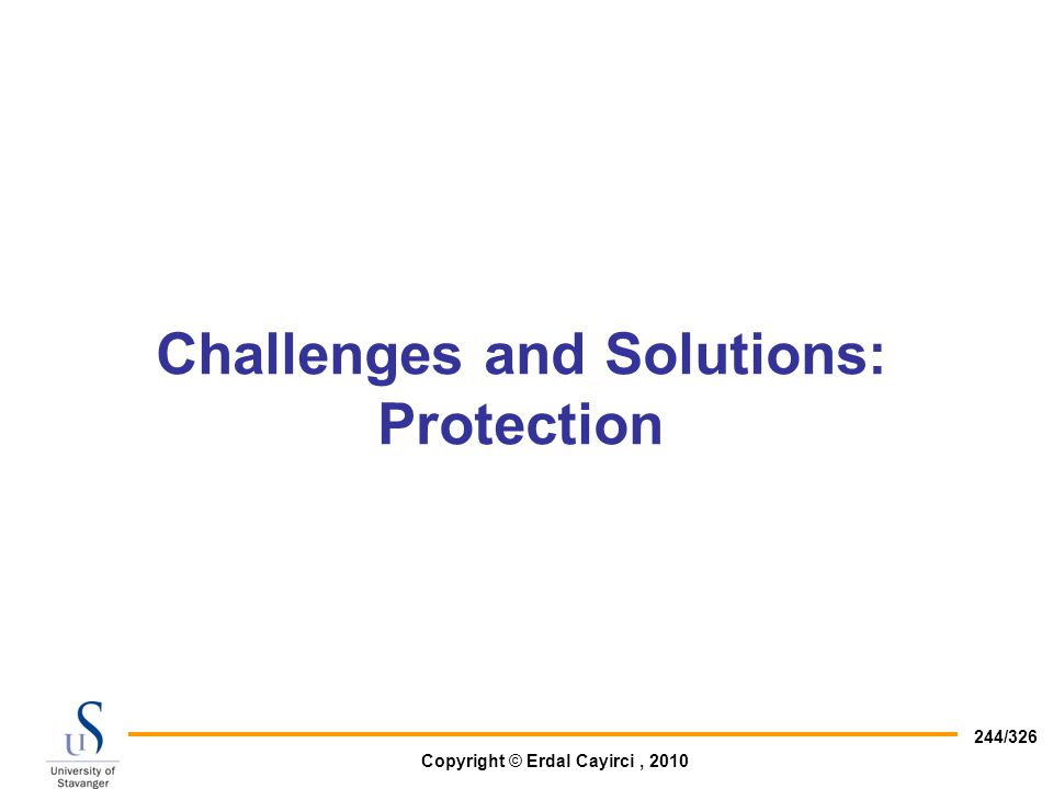 Challenges and Solutions: Protection