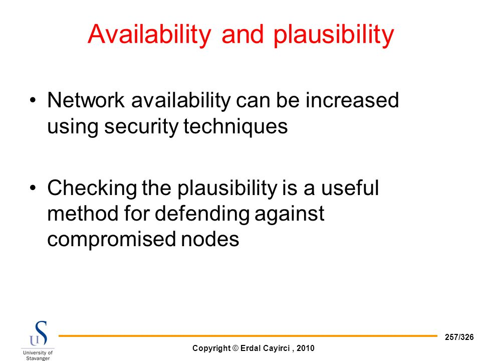 Availability and plausibility