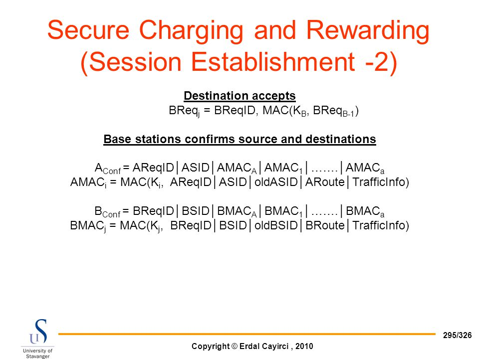 Secure Charging and Rewarding (Session Establishment -2)