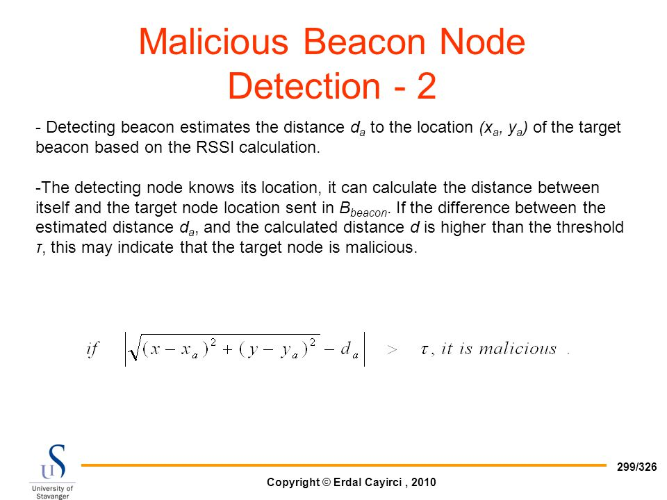 Malicious Beacon Node Detection - 2