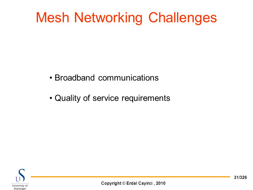 Mesh Networking Challenges