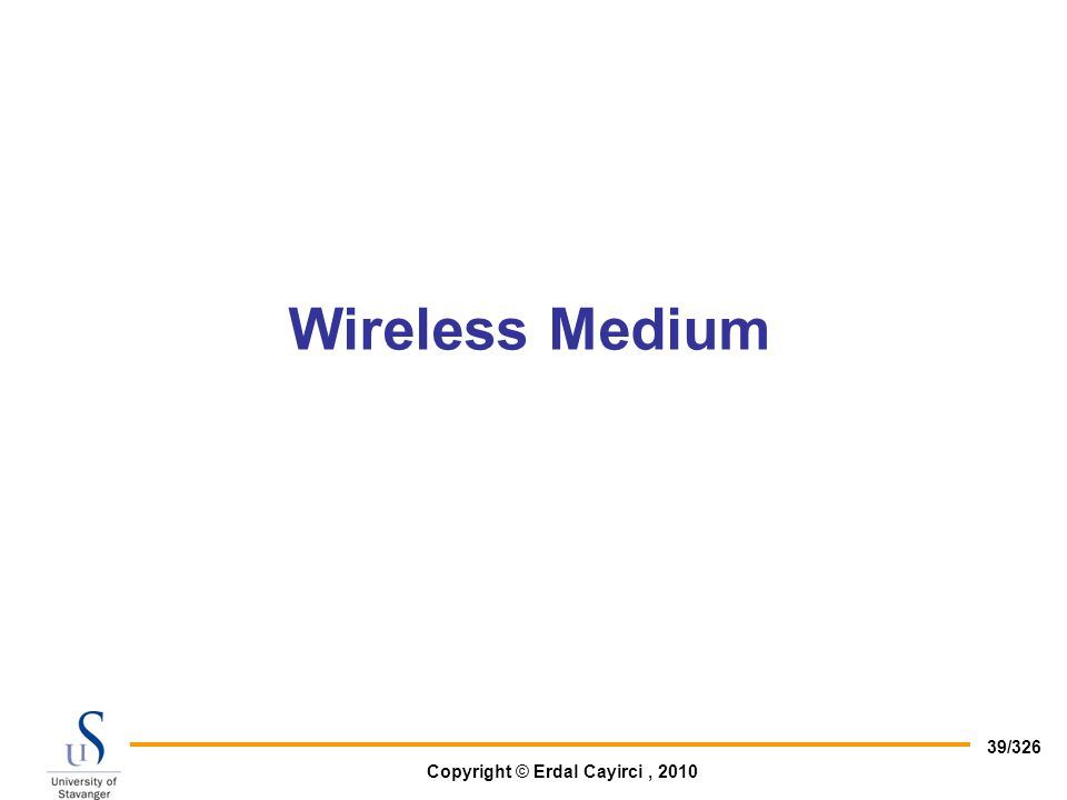 Wireless Medium