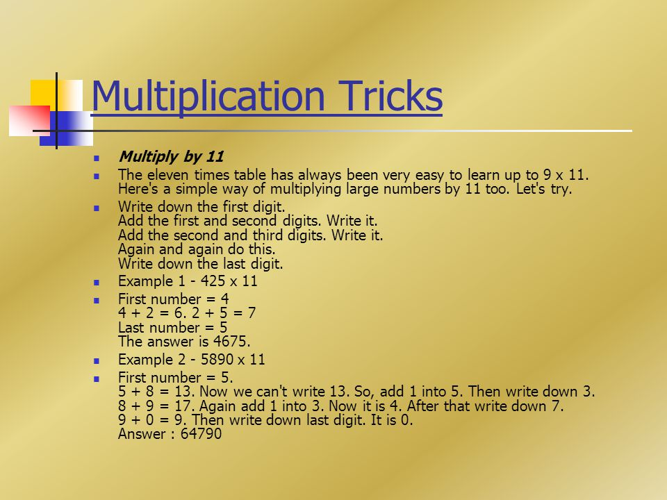 Amazing Math Trick 234x Trick Trick Ppt Video Online Download