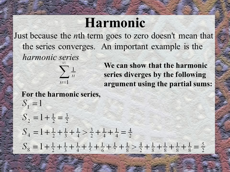 Solved: in mathematics, the harmonic series is the diverge.