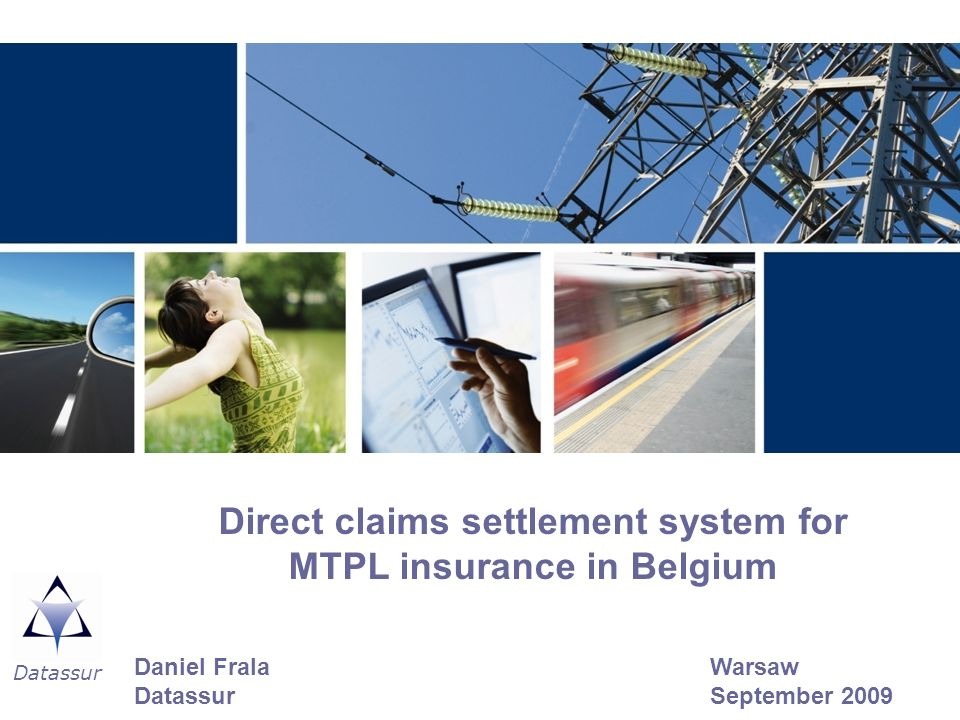 Direct claims settlement system for MTPL insurance in Belgium