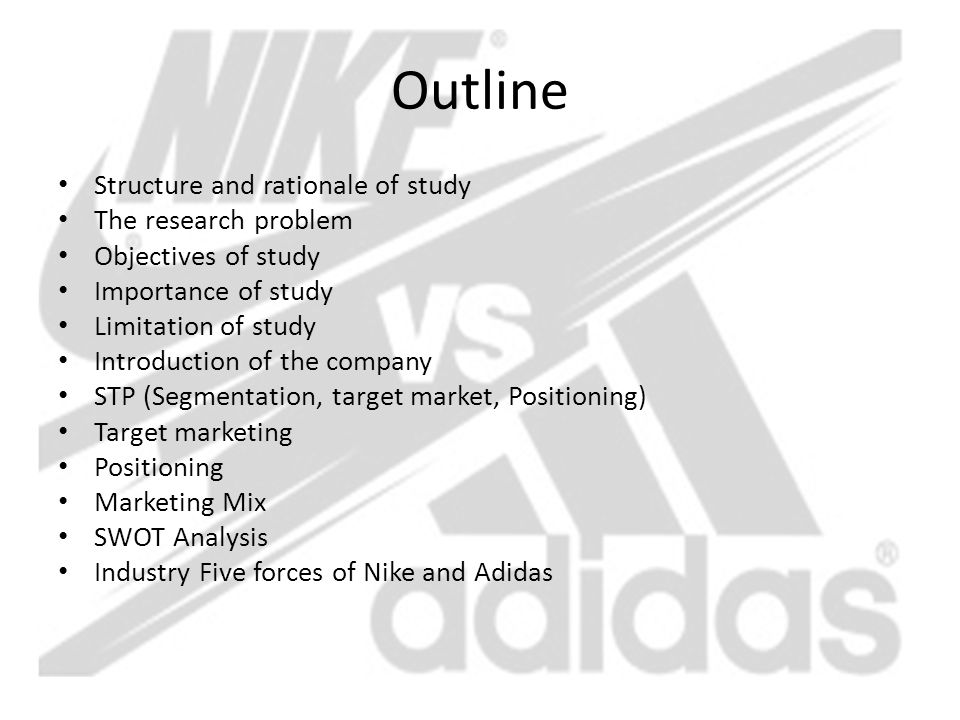 nike segmentation analysis