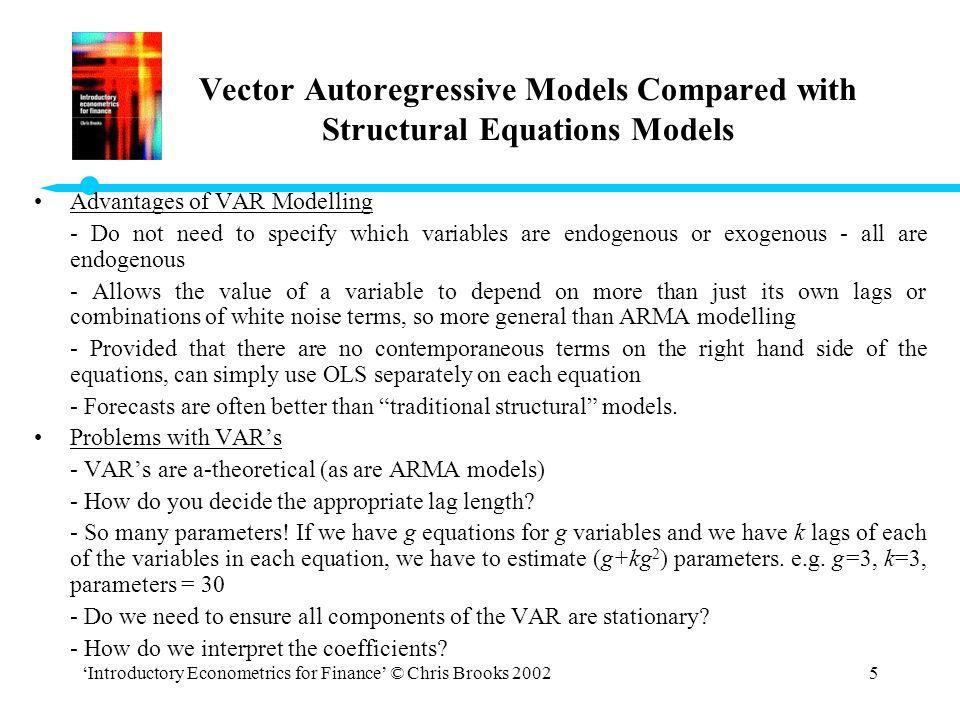 Vector autoregression example