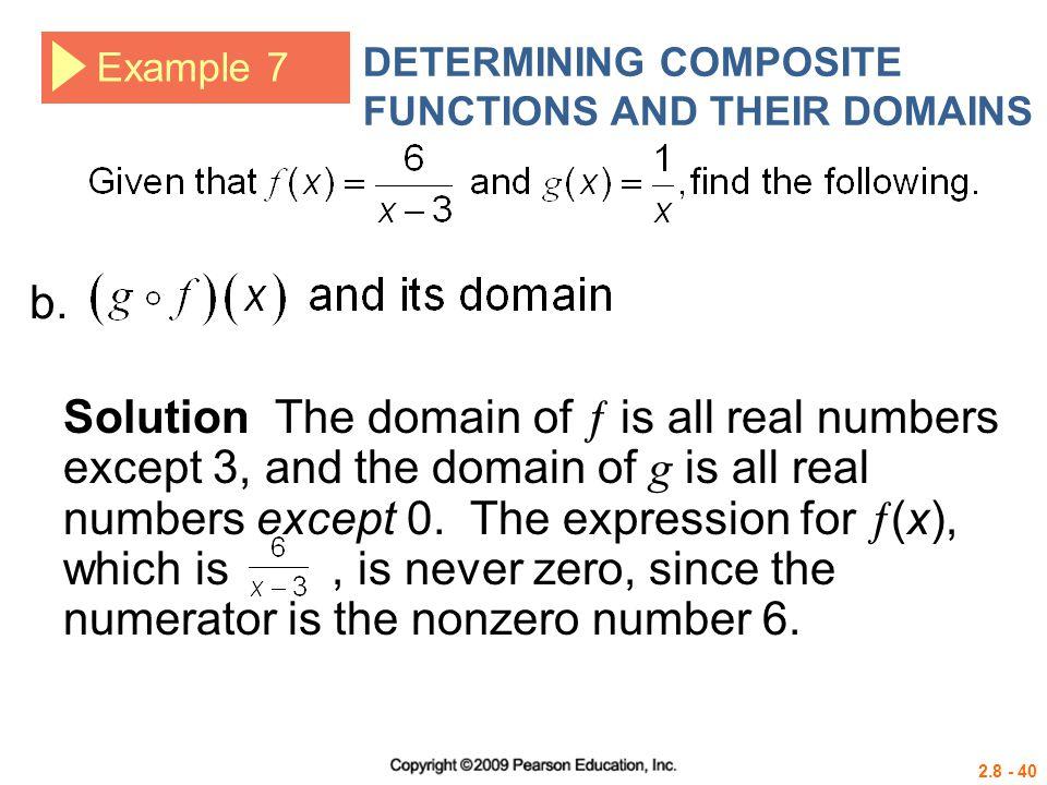 DETERMINING COMPOSITE FUNCTIONS AND THEIR DOMAINS