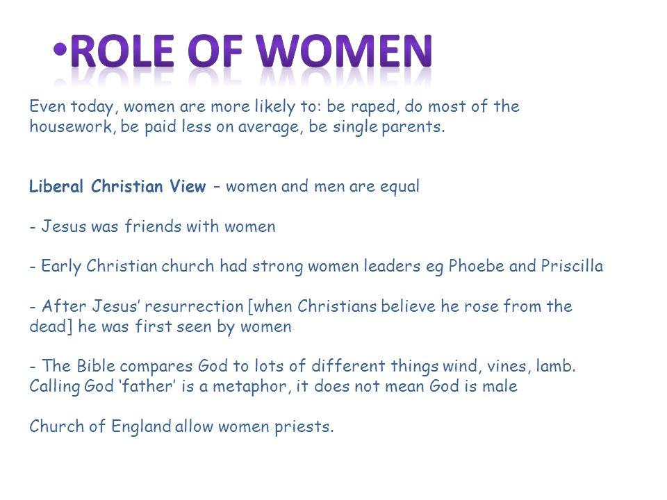jesus views on women