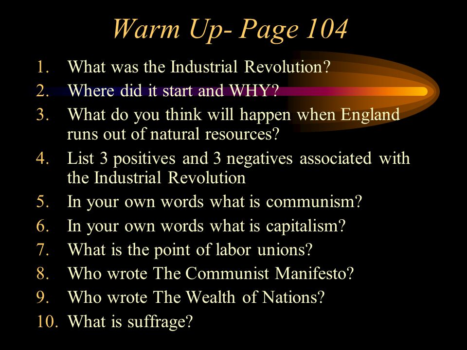 positives and negatives of the industrial revolution