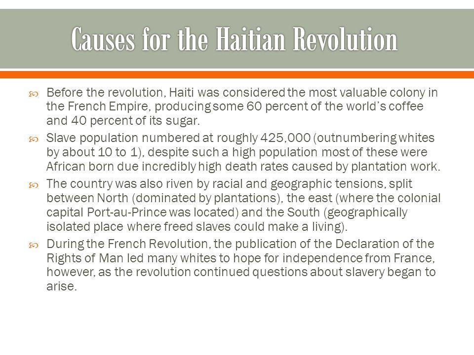 causes of haitian revolution