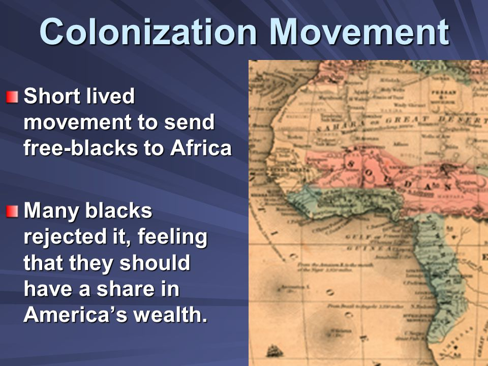 Colonization Movement
