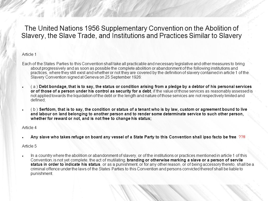 slavery and human trafficking - ppt download