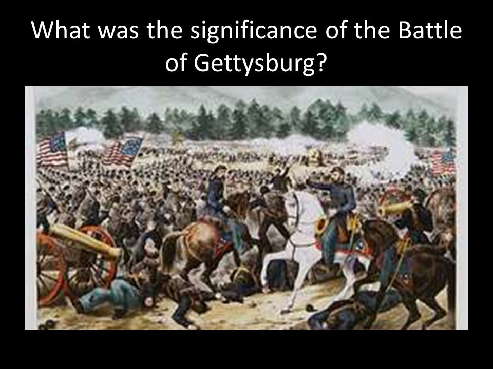 What was the significance of the Battle of Gettysburg