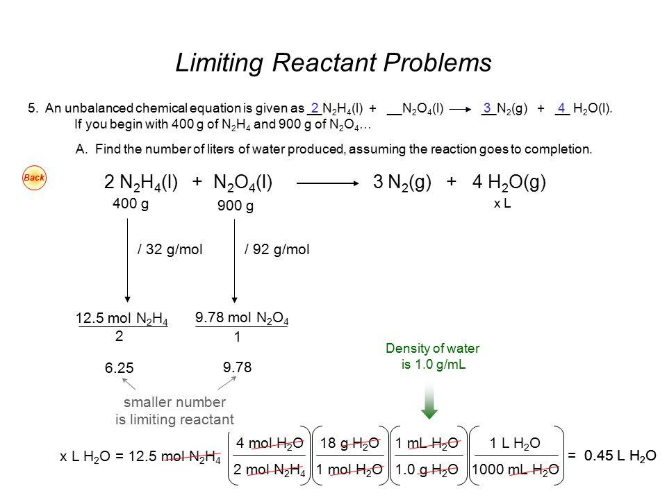 Excess Reactant Ppt Video Online Download. Limiting Reactant Problems. Worksheet. Limiting Reactant Problems Worksheet At Clickcart.co