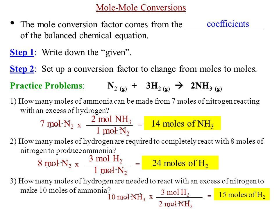Ch 9 Notes Chemical Quantities Ppt Video Online Download