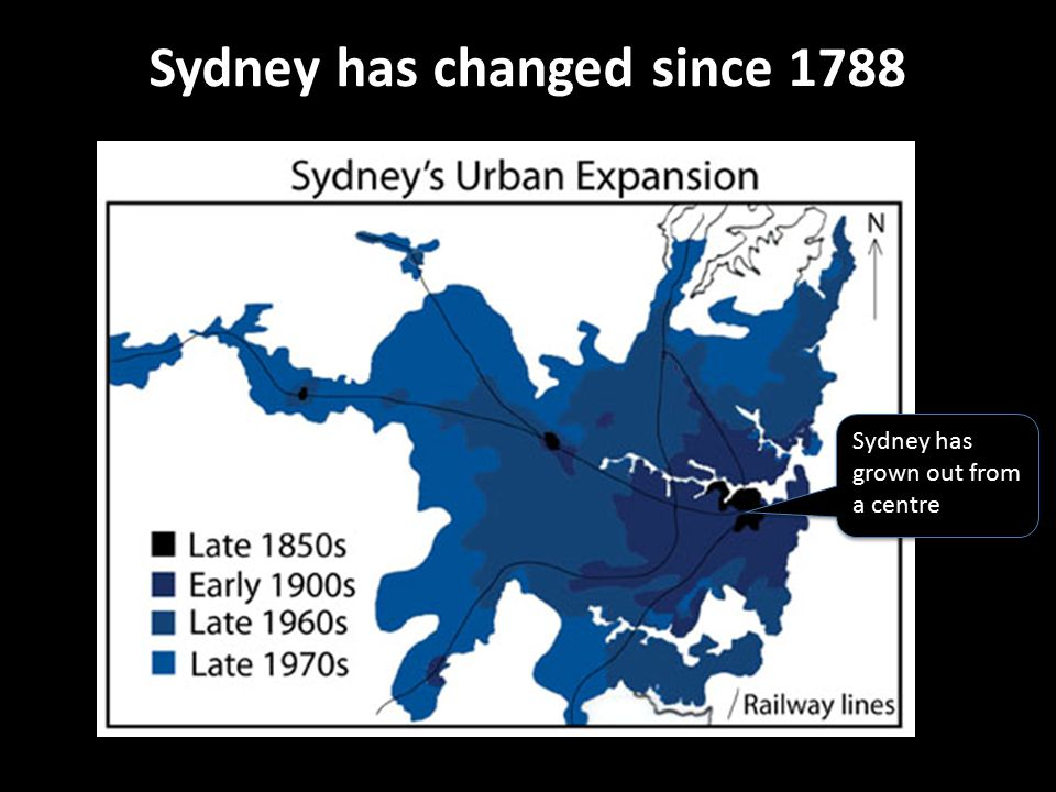 Sydney has changed since 1788