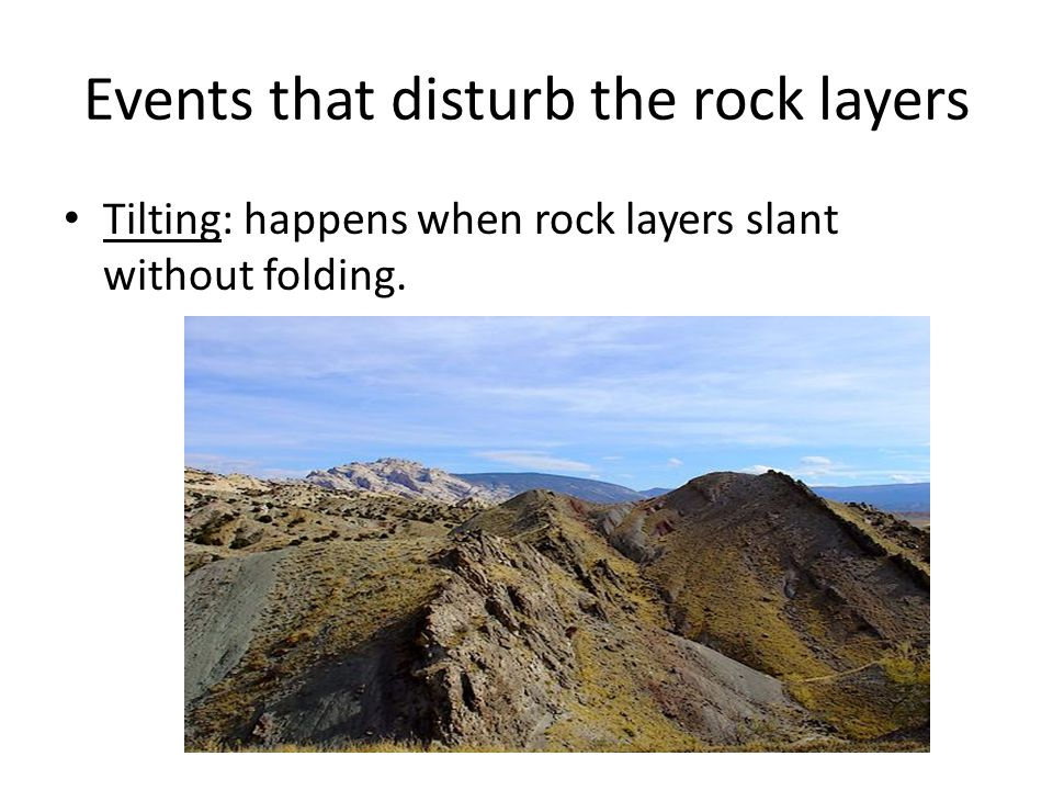 Plate tectonics the dynamic earth ppt video online download events that disturb the rock layers publicscrutiny Gallery