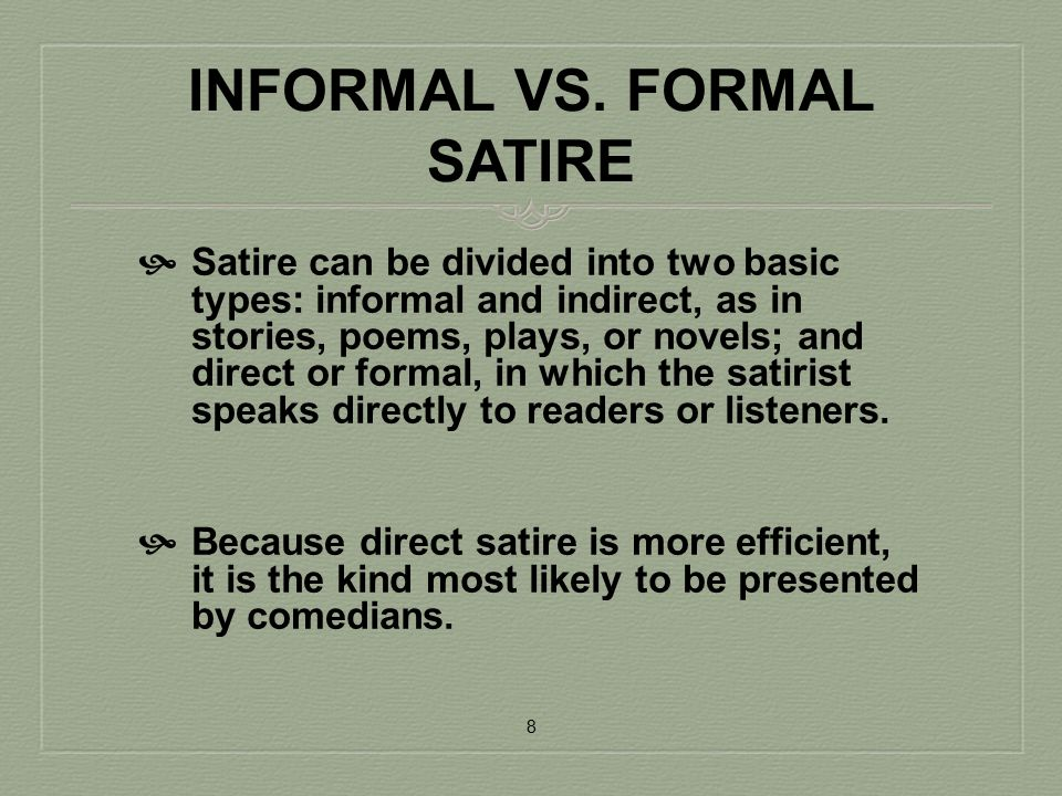 Introduction To Satire Ppt Video Online Download