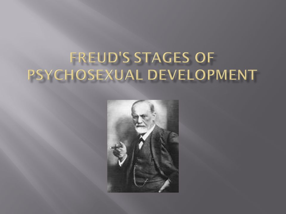 Psychosexual development controversy
