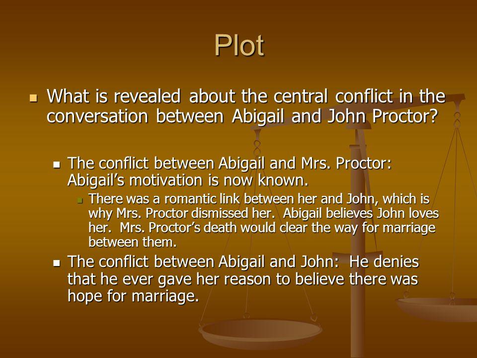 conflict between parris and proctor