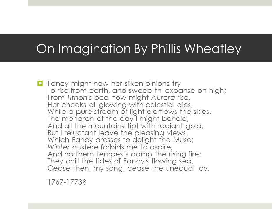 On Imagination By Phillis Wheatley: Phillis Wheatley Worksheet At Alzheimers-prions.com