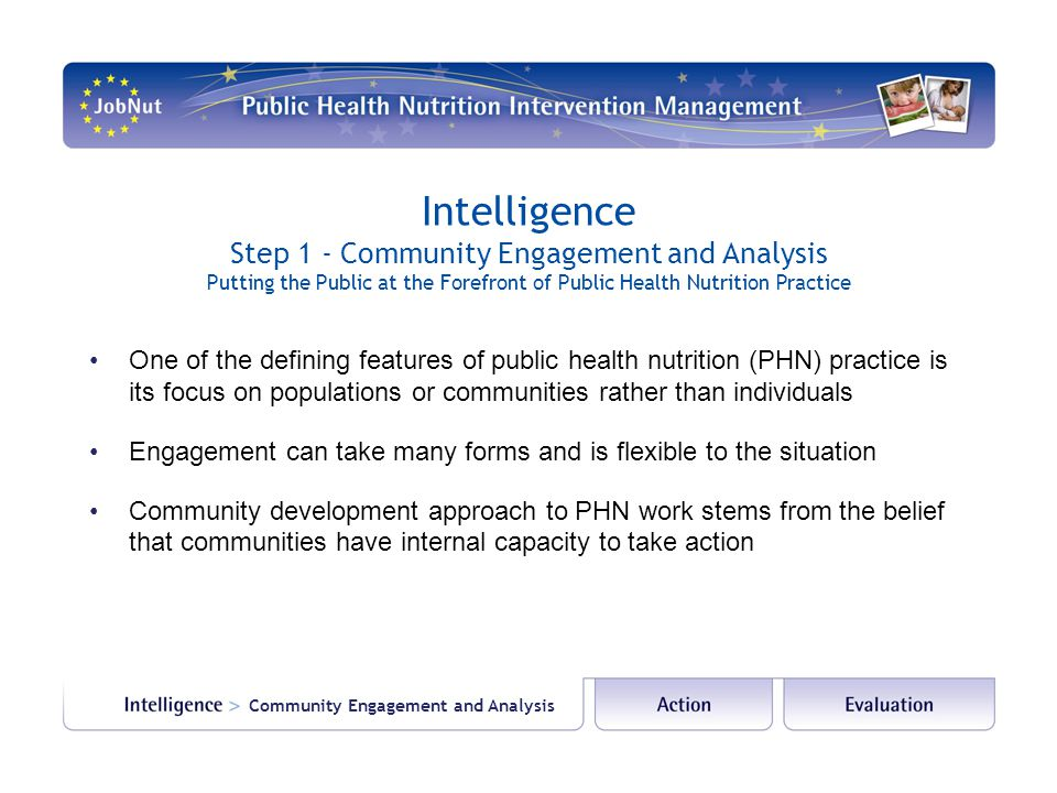 Step 1 - Community Engagement and Analysis