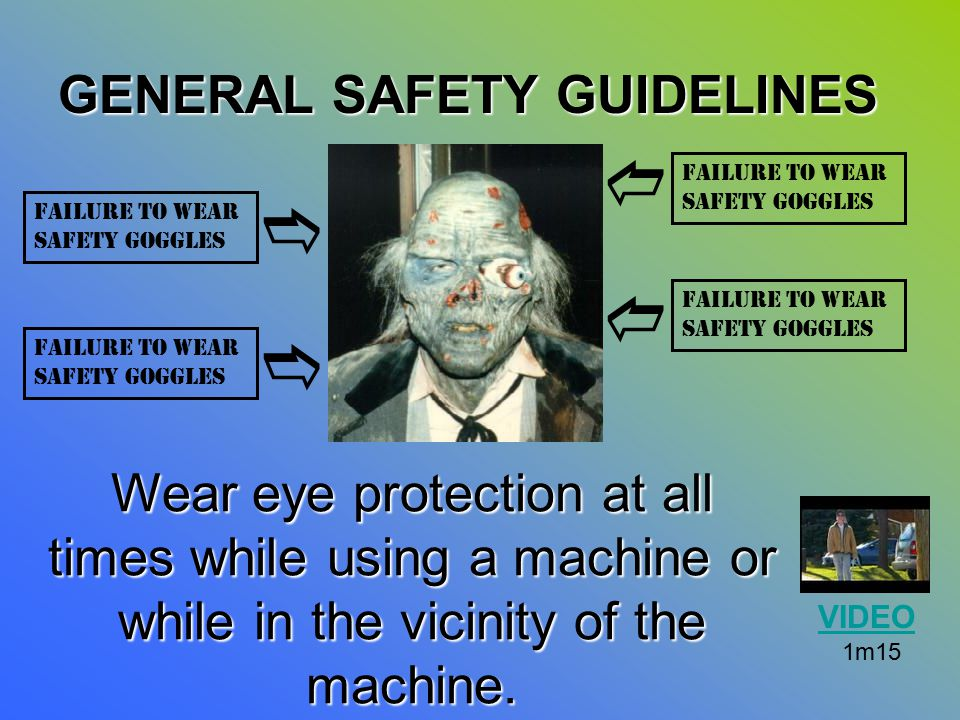 d e d e GENERAL SAFETY GUIDELINES