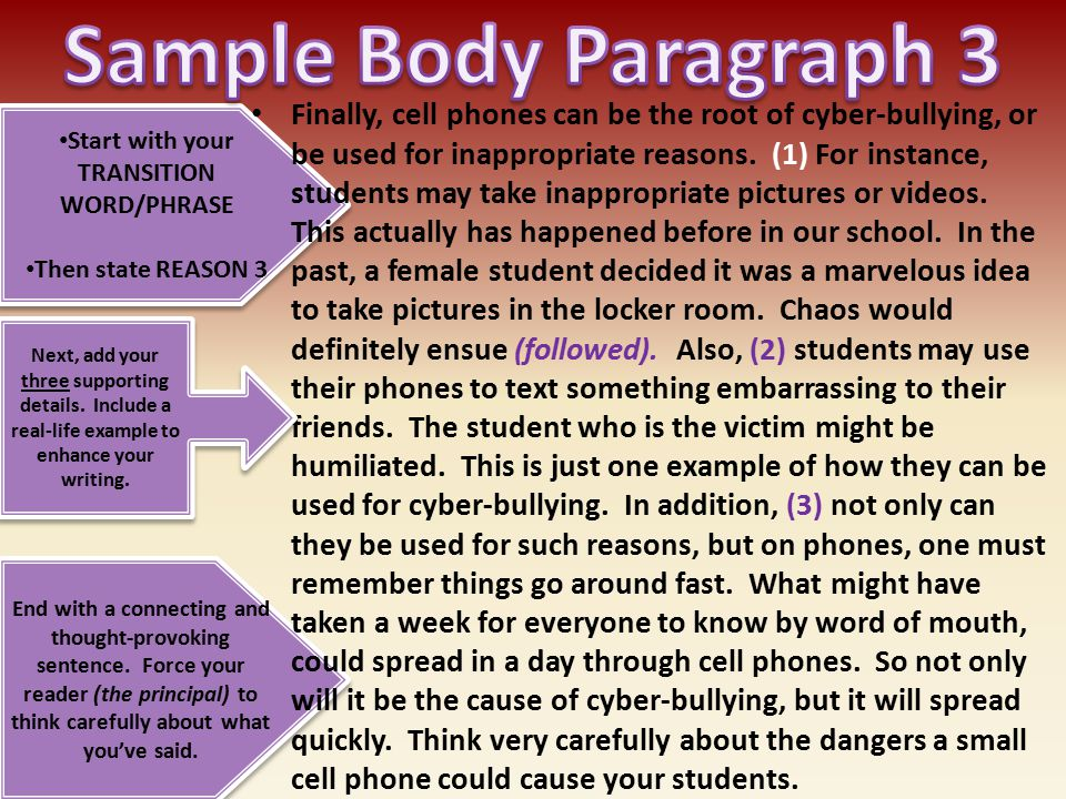 persuasive essay conclusion on bullying A bullying essay conclusion paragraph is a reflection of the whole short essay about bullying, which should sound like the final verdict don't include new information in this paragraph place my order now.