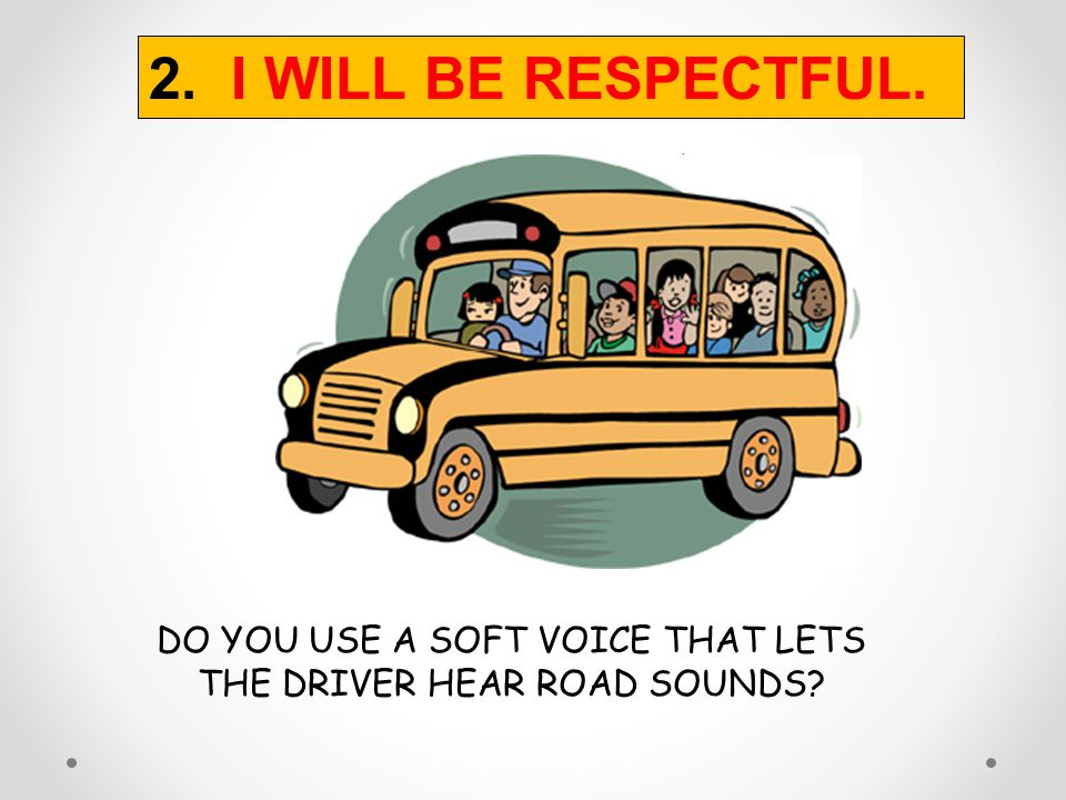DO YOU USE A SOFT VOICE THAT LETS THE DRIVER HEAR ROAD SOUNDS