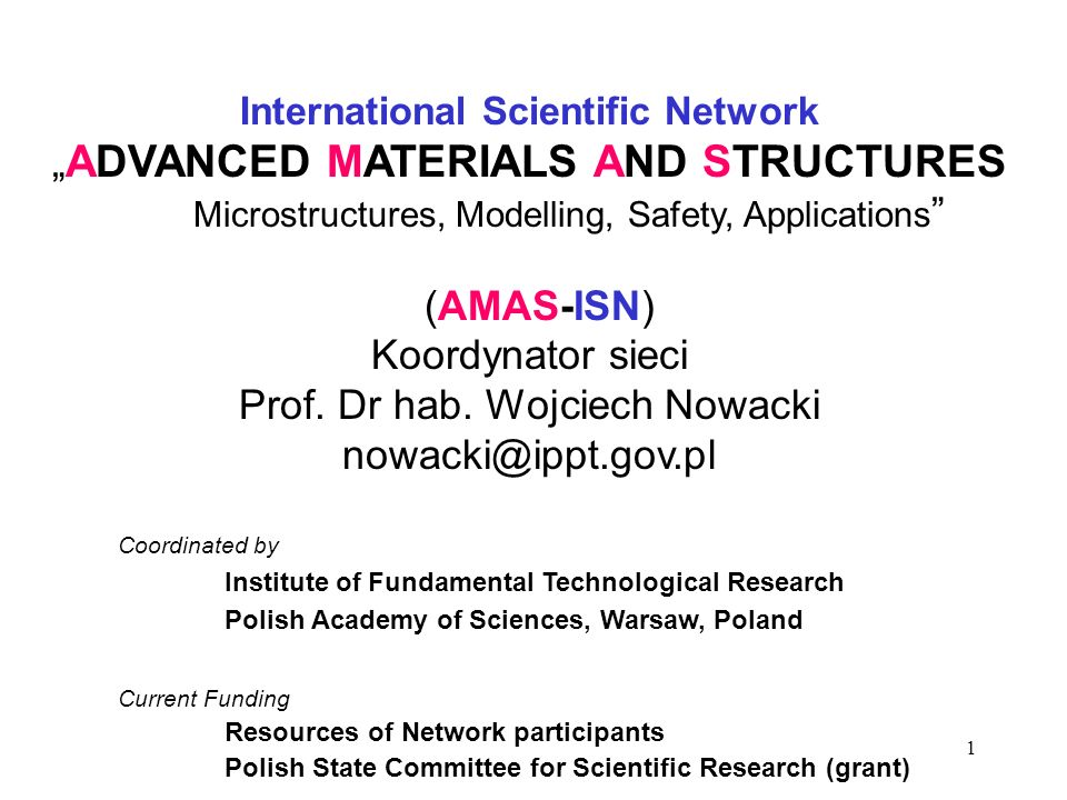 International Scientific Network