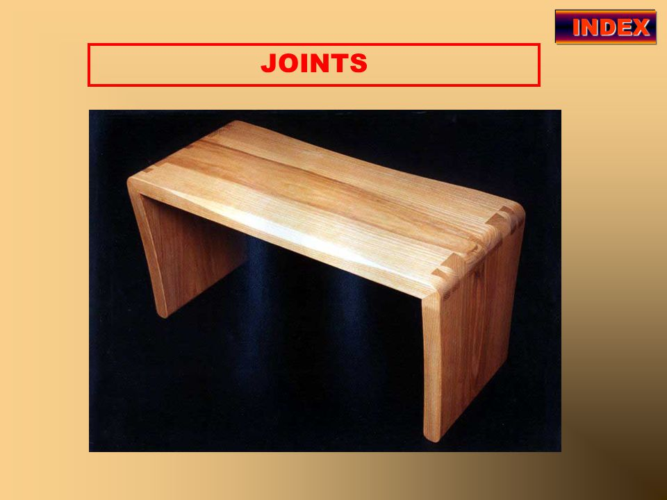 INDEX JOINTS