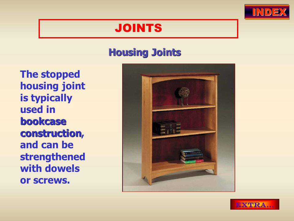 JOINTS INDEX Housing Joints